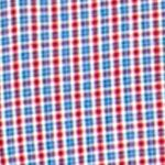 Chaps Big & Tall Sale: Chaps Red Chaps Big & Tall Mini-Checked Poplin Shirt