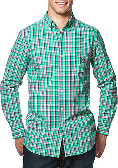 Chaps EASY CARE WOVEN ASTRO GREEN