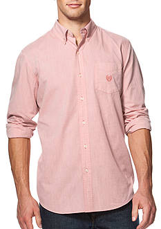 Chaps Big & Tall End-on-End Poplin Shirt