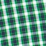 Chaps Big & Tall Sale: Ultra Green Chaps Big & Tall Checked Poplin Shirt