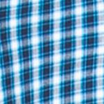 Chaps Big & Tall Sale: Artic Blue Chaps Big & Tall Checked Poplin Shirt