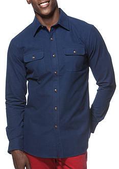 Chaps Big & Tall Cotton Workshirt