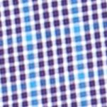 Chaps Clothing: College Purple Chaps Big & Tall Gingham Poplin Shirt
