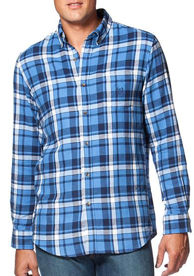 Chaps Big Tall Plaid Flannel Shirt Belk