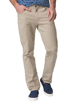 Chaps Big & Tall Stretch-Twill 5-Pocket Pant