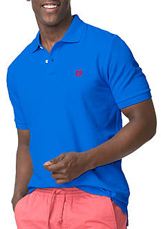 Chaps Big & Tall Stretch Pique Polo Shirt