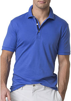 Chaps Big & Tall Cotton Interlock Polo Shirt
