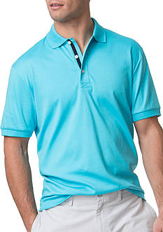 Chaps Big & Tall Cotton Interlock Polo Shirt