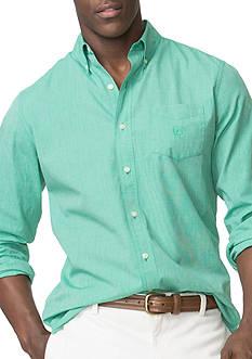 Chaps Big & Tall Poplin Shirt