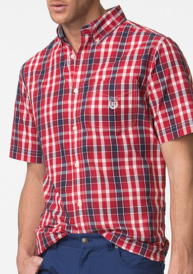 Casual button down shirts for big and tall men belk for Big and tall casual shirts