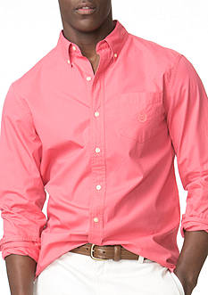 Chaps Big & Tall Poplin Shirt