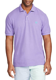 Chaps Big & Tall Short Sleeve Cotton Mesh Polo Shirt