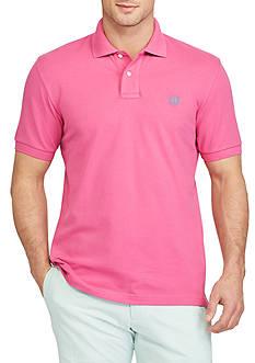Chaps Big & Tall Short Sleeve Stretch Mesh Polo Shirt