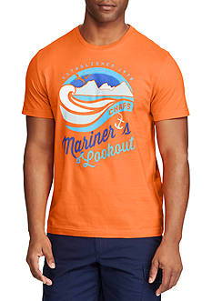 Chaps Big & Tall Mariner's Lookout Graphic Tee