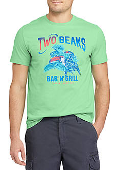 Chaps Big & Tall Two Beaks Graphic Tee