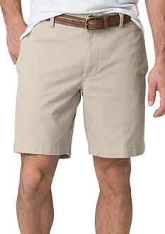 Chaps Big & Tall Stretch-Twill Shorts