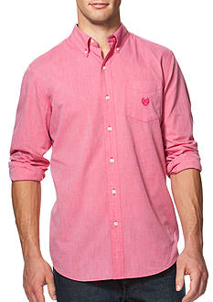 Chaps Big & Tall End-on-End Cotton Shirt