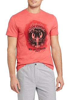 Chaps Big & Tall Short Sleeve Lobster Graphic Tee