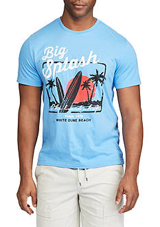 Chaps Big & Tall Big Splash Graphic Tee