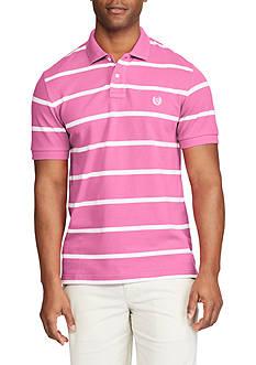 Chaps Big & Tall Striped Mesh Polo Shirt