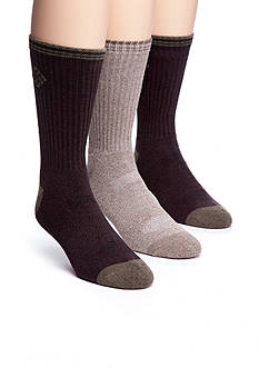 Columbia™ 3-Pack Lifestyle Indoor Explorer Combed Cotton Sport Crew Socks