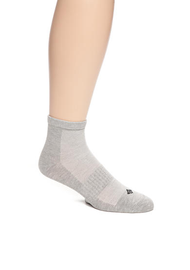 Columbia Lightweight Flat Knit Quarter Socks - 3 Pack