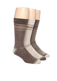 Columbia Lightweight Striped Crew Socks - 3 Pack