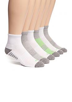 Columbia Athletic Quarter Length Socks - 6 Pack
