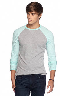 Red Camel® Long Sleeve Raglan Crew Shirt
