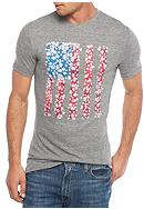 Red Camel® Short Sleeve Flag Graphic Tee