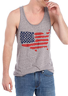 Red Camel® Sleeveless Flag Graphic Tank