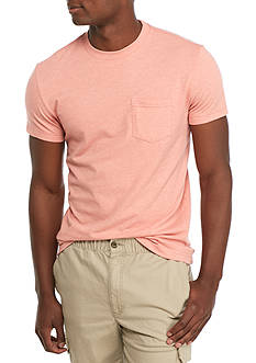 Red Camel® Short Sleeve Basic Pocket Crew Neck Tee