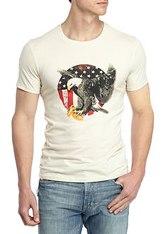 Red Camel® Short Sleeve Eagle With Hot Dog Graphic Tee