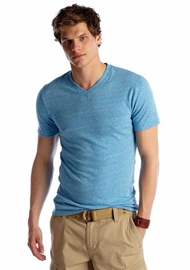 Red Camel® Short Sleeve Triblend V-Neck Tee