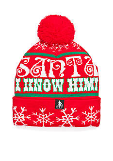 Concept One Accessories 'Santa I Know Him' Hat