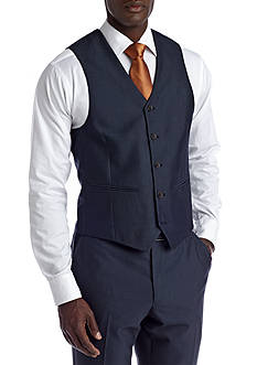 Savile Row Slim Navy Suit Separate Vest
