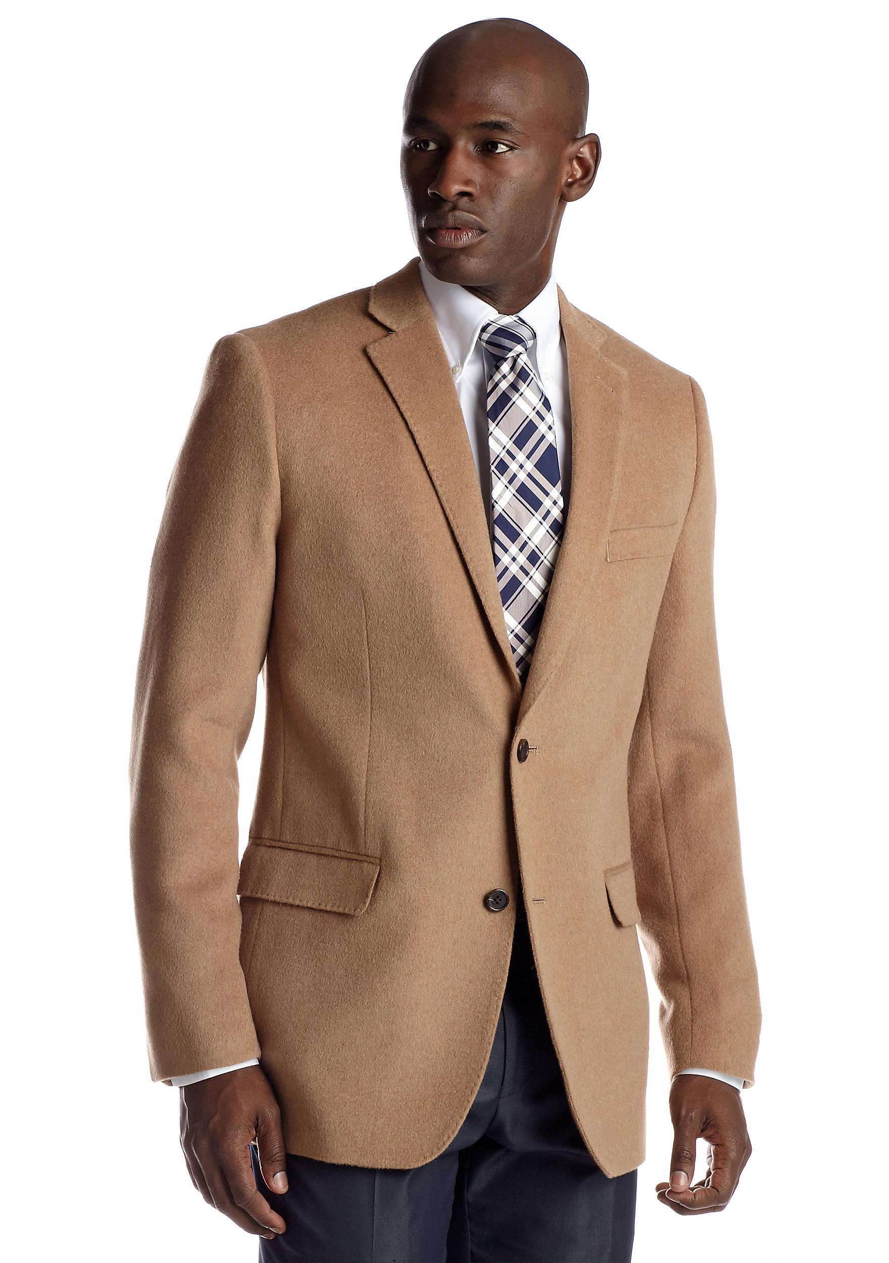 Savile Row Classic Fit Camel Hair Sport Coat | belk