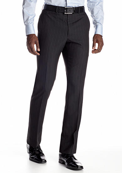 Savile Row Classic Fit Black Stripe Suit Separate Pants