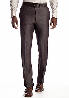 Savile Row Classic Fit Brown Stripe Suit Separate Pants