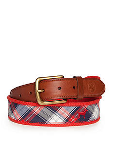 Southern Proper Red Plaid Lab Belt
