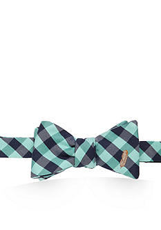 Southern Proper Green Feathers Bow Tie