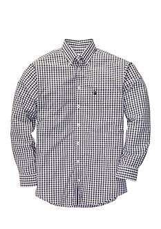 Southern Proper Gingham Goal Line Woven Shirt