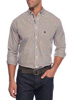 Southern Proper Gingham Goal Line Woven Shirt