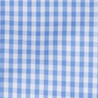 Men: Southern Proper Casual Shirts: Blue Southern Proper Gingham Goal Line Woven Shirt