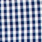 Men: Southern Proper Casual Shirts: Navy Southern Proper Gingham Goal Line Woven Shirt