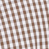 Trends: Plaid: Backroad Brown Southern Proper Gingham Goal Line Woven Shirt