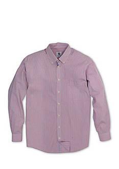 Southern Proper Long Sleeve Small Check Goal Line Shirt