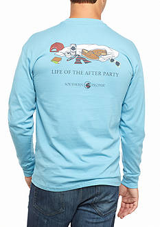 Southern Proper Long Sleeve Life Of The After Party Graphic Tee