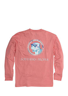 Southern Proper Long Sleeve Palm Lab Graphic Tee