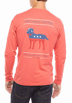 Southern Proper Long Sleeve Original Party Animal Graphic Tee